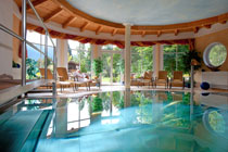 Spa and Pool area