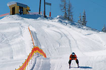 Skiing in Kleinarl